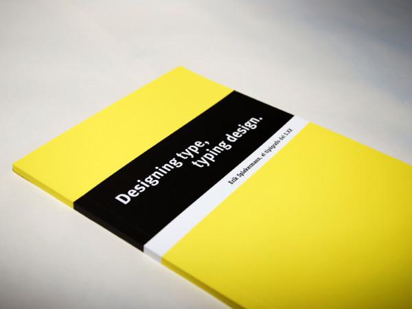 Designing type…